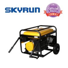 Skyrun 5KVA/5KW Key Start Gasoline Generator-SK6500E2/ZH-Yellow
