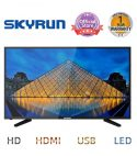Skyrun 32″ LED-32XM/N68D HD TV With Free Wall Bracket – Black