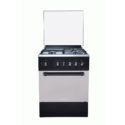 Maxi 60 X 60 4 Burner Standing Cooking Gas Black